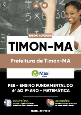 PEB -Ensino Fundamental do 6º ao 9º ano - MATEMÁTICA