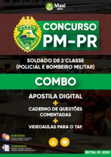 Combo Polícia Militar do Paraná - PM-PR