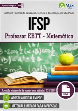 Professor EBTT - Matemática