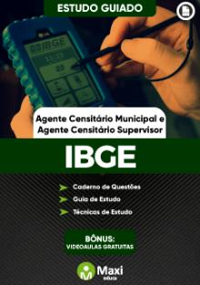 Concurso da Fundação Instituto Brasileiro de Geografia e Estatística - IBGE