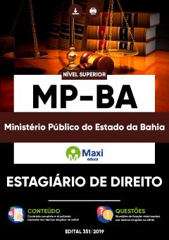 Apostila Digital em PDF do Ministério Público do Estado da Bahia - MP-BA