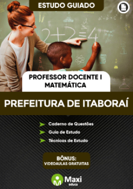 Estudo Guiado - Professor Docente I - Matemática