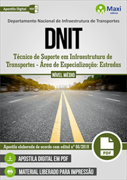 Técnico de Suporte em Infraestrutura de Transportes - Área de Especialização: Estradas