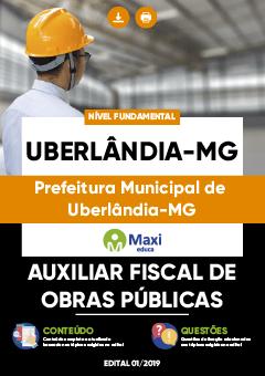 Apostila Digital em PDF da Prefeitura de Uberlândia - MG