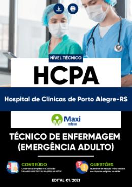 Técnico de Enfermagem (Emergência Adulto)
