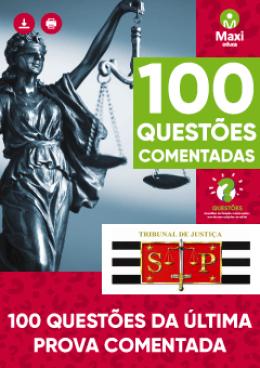 100 Questões Comentadas - TJ-SP