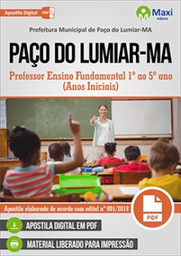 Professor Ensino Fundamental 1º ao 5º ano (Anos Iniciais)