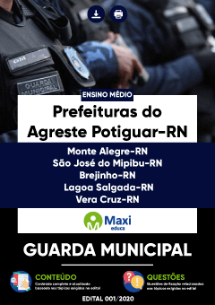 Apostila Digital em PDF das Prefeituras do Agreste Potiguar-RN