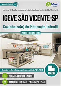 Cozinheiro(a) da Educação Infantil