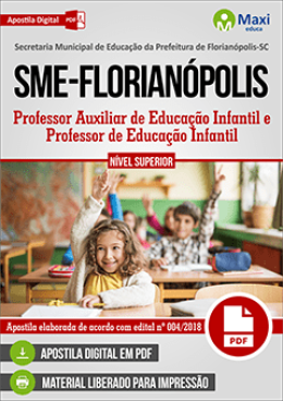 Professor Auxiliar de Educação Infantil e Professor de Educação Infantil