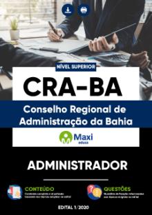 Apostila Digital em PDF do Conselho Regional de Administração da Bahia - CRA-BA