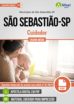 Apostila Digital em PDF do Município de São Sebastião-SP