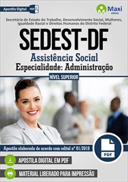 Assistência Social - Especialidade: Administração