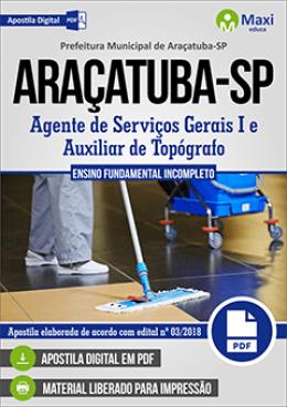 Agente de Serviços Gerais I e Auxiliar de Topógrafo