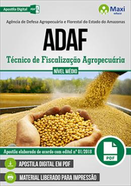 Técnico de Fiscalização Agropecuária