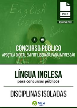 Língua Inglesa para Concursos Públicos