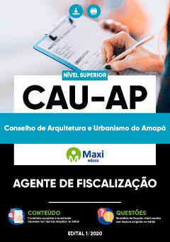Apostila Digital em PDF do Conselho de Arquitetura e Urbanismo do Amapá - CAU-AP
