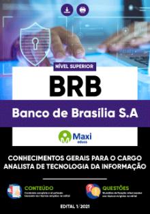 Apostila Digital em PDF do Banco de Brasília S.A - BRB