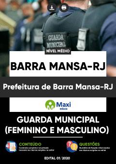 Apostila Digital em PDF da Prefeitura de Barra Mansa-RJ