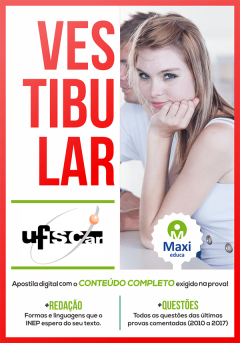 Apostila Digital Preparatória para Vestibular - UFSCar