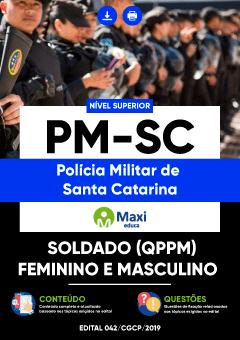 Apostila Digital em PDF da Polícia Militar de Santa Catarina - PM-SC