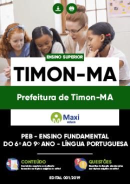 PEB - Ensino Fundamental do 6º ao 9º ano - LÍNGUA PORTUGUESA