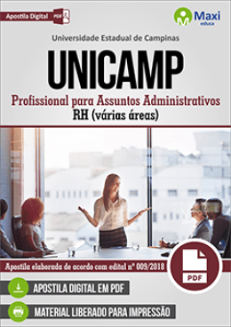 Profissional para Assuntos Administrativos - RH (várias áreas)