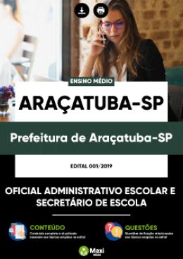 Oficial Administrativo Escolar e Secretário de Escola
