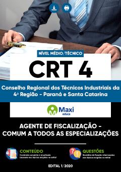 Apostila Digital em PDF do Conselho Regional dos Técnicos Industriais da 4ª Região - Paraná e Santa Catarina - CRT 4