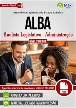 Analista Legislativo - Administração