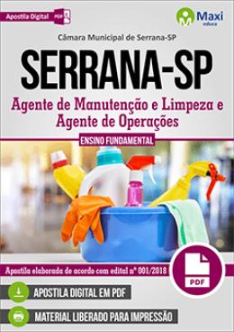 Agente de Manutenção e Limpeza e Agente de Operações