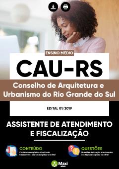 Apostila Digital em PDF do Conselho de Arquitetura e Urbanismo do Rio Grande do Sul - CAU-RS