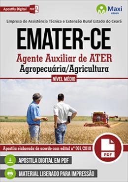 Agente Auxiliar de ATER - Agropecuária/Agricultura