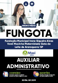 Apostila Digital em PDF da Fundação Municipal Irene Siqueira Alves - Vovó Mocinha Maternidade Gota de Leite de Araraquara-SP - FUNGOTA