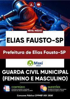 Apostila Digital em PDF da Prefeitura de Elias Fausto-SP