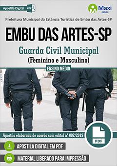 Apostila Digital em PDF da Prefeitura de Embu das Artes - SP