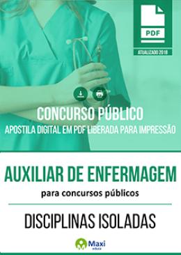Auxiliar de Enfermagem para Concursos Públicos