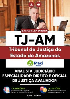 Apostila Digital em PDF do Tribunal de Justiça do Estado do Amazonas - TJ-AM