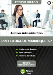 Concurso da Prefeitura de Mairinque-SP