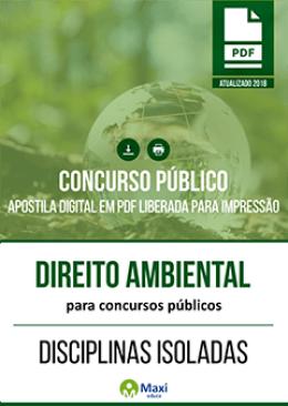 Direito Ambiental para Concursos Públicos