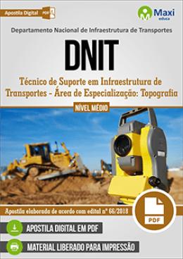 Técnico de Suporte em Infraestrutura de Transportes - Área de Especialização: Topografia