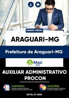 Apostila Digital em PDF da Prefeitura de Araguari - MG