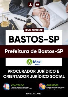 Apostila Digital em PDF da Prefeitura de Bastos-SP