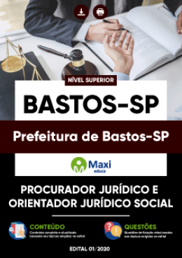 Procurador Jurídico e Orientador Jurídico Social