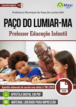 Professor Educação Infantil