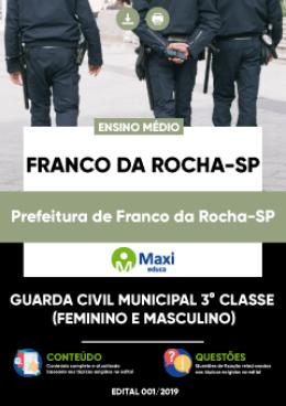 Guarda Civil Municipal 3° Classe (Feminino e Masculino)