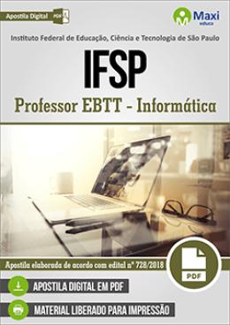 Professor EBTT - Informática