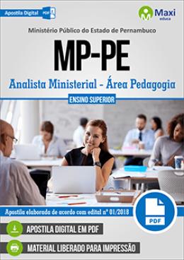 Analista Ministerial - Área Pedagogia