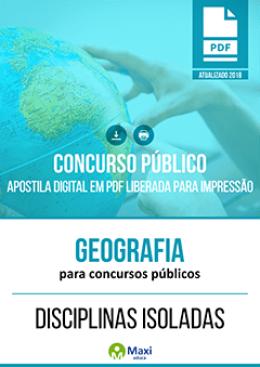 Geografia para Concursos Públicos