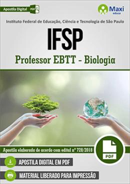 Professor EBTT - Biologia